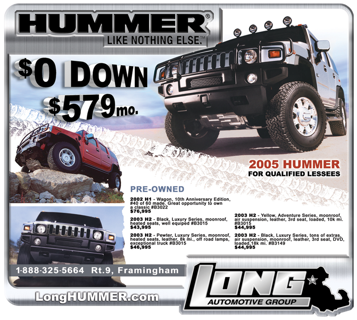 Long Hummer