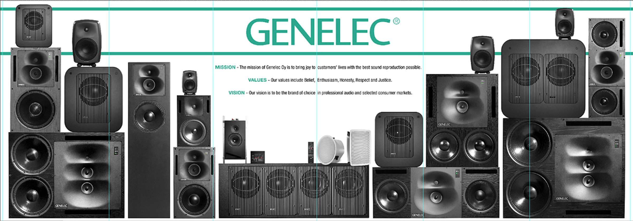 Genelec Speakers