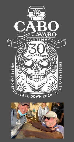 Cabo Wabo 30th anniversary t-shirt