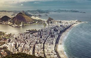 Rio de Janeiro faixa de praia