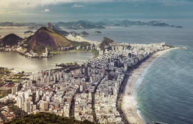 Rio de Janeiro Beach Strip