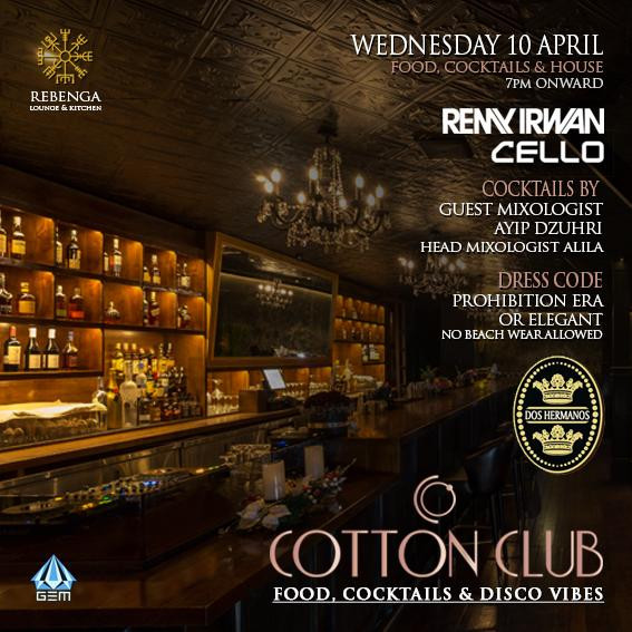 Cotton Club at Rebenga