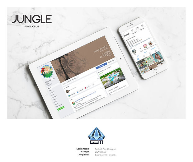 Social Media Manager Jungle Bali