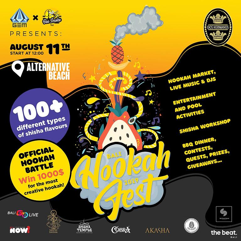 3rd Annual HookahFest Bali