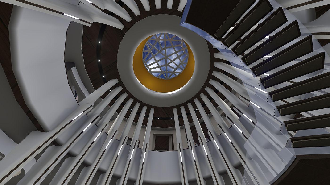 modern house_interior_Skylight_Scottsdale