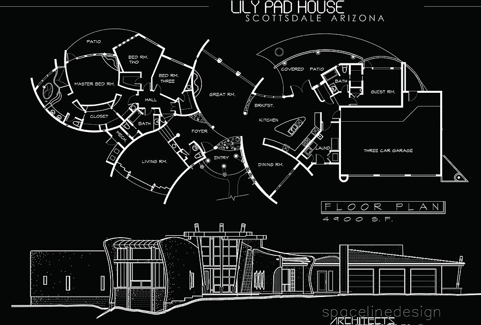 lily pad house scottsdale - Lilypad Architecture