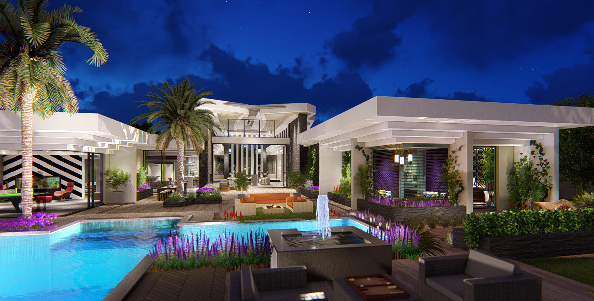 02 Modern Villa Design Arizona INterior