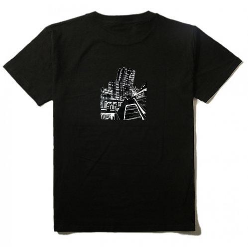 Block Art T-shirt black mens