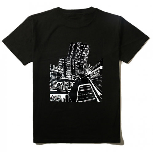 Block Art T-shirt black Mens