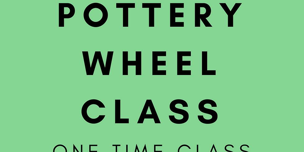 Try-It Pottery Wheel Class