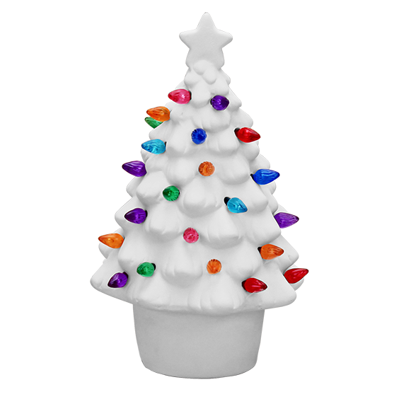 Christmas in July! Small Lighted Tree