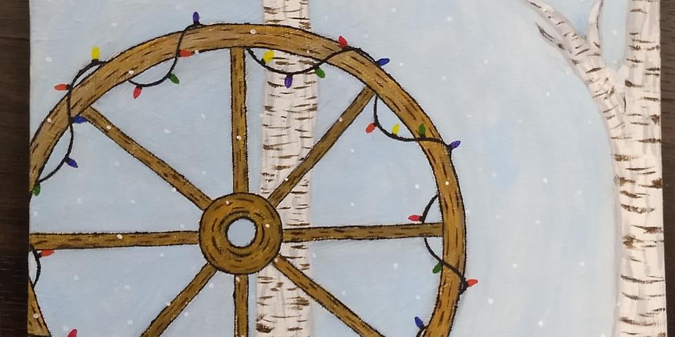 Wagon Wheel Canvas