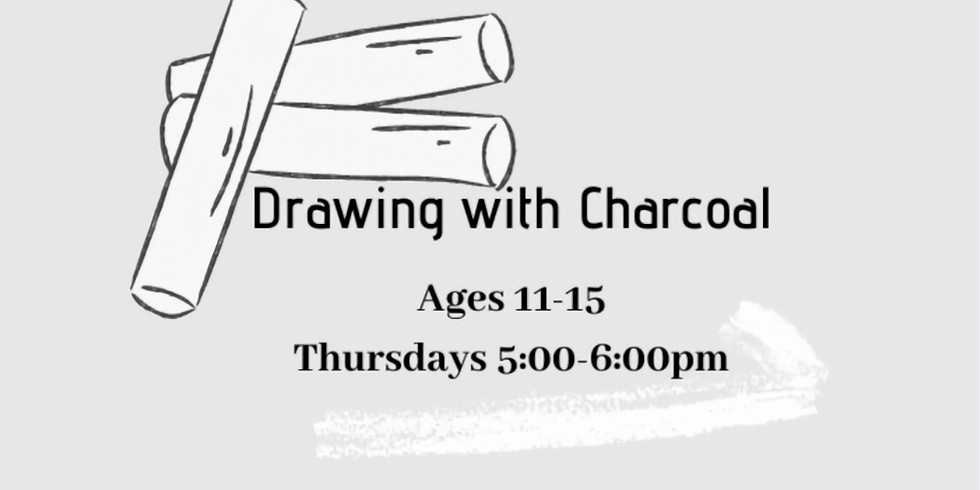 Drawing with Charcoal age 11-15