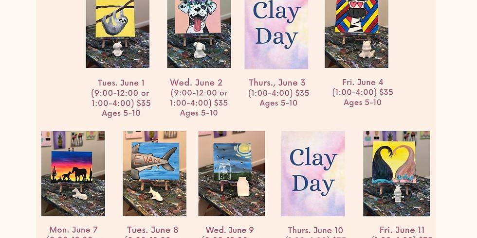 June 1st-11th Mini-Camps: Ages 5-10