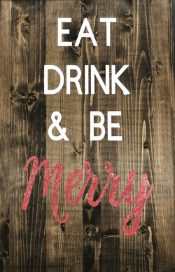 Eat, Drink, & Be Scary/Merry