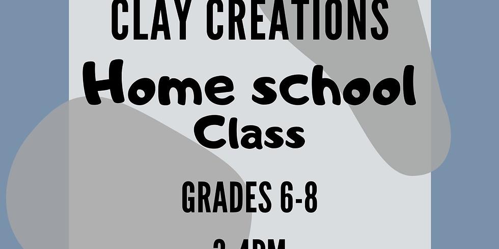 Clay Creations 6th-8th Nov.