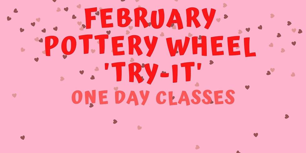 """Pottery Wheel """"Try-It"""" Class"""