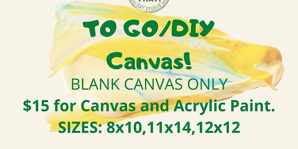 BLANK TO GO/DIY Canvas