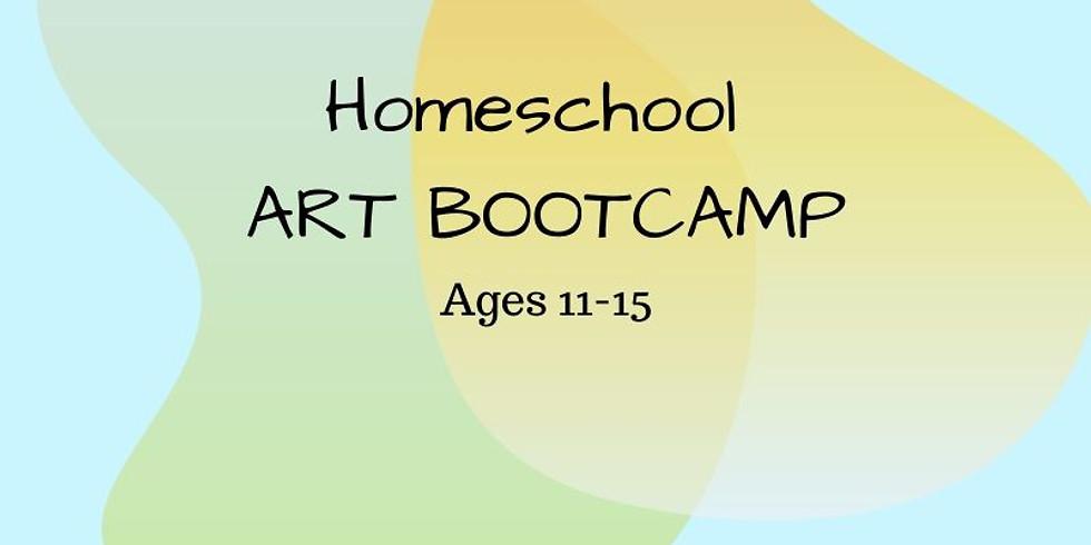 Homeschool Art Bootcamp