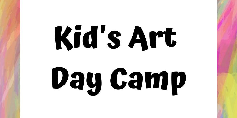 Kid's Art Day Camp