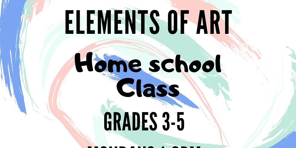 HOMESCHOOL: Elements of Art Grades 3-5