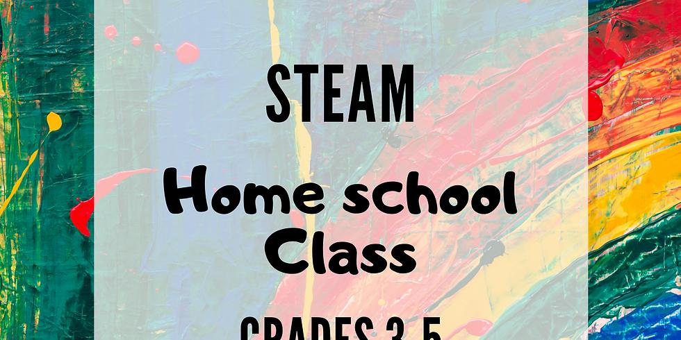 STEAM: Home School Class 3rd-5th
