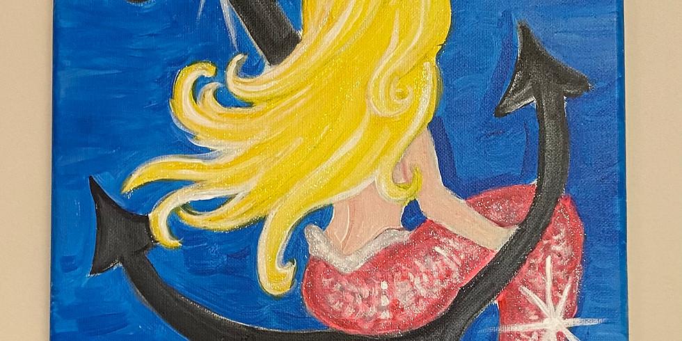 Mermaid On Anchor