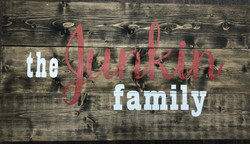the Junkin family