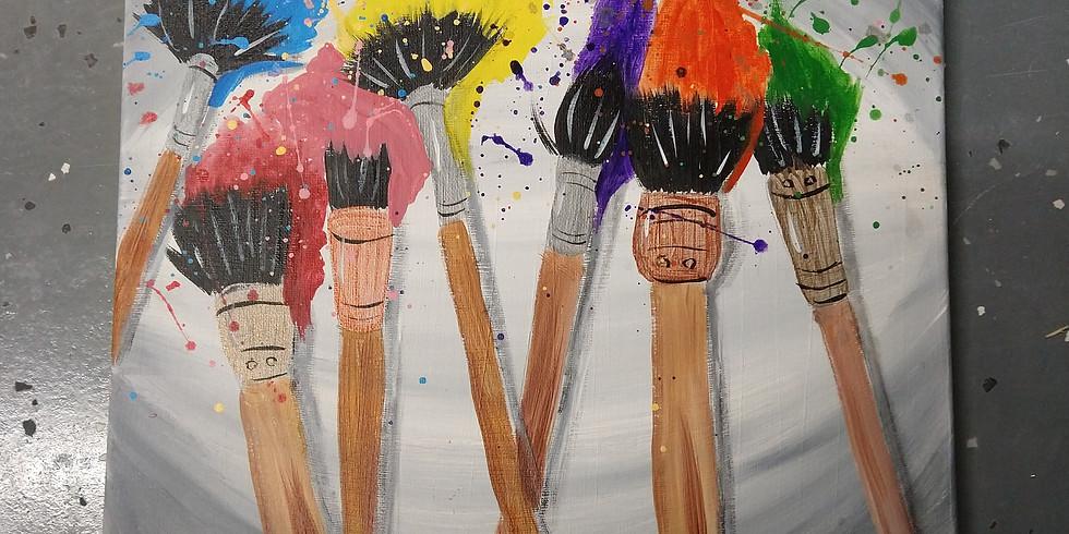 Rainbow Brushes