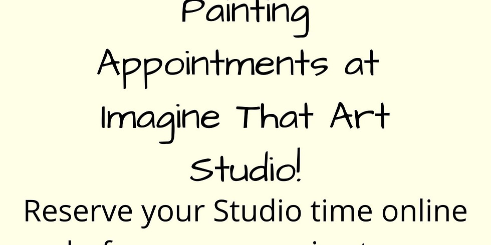 Paint In-Studio Appointments Jan.13-16th