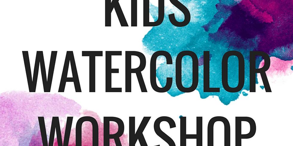 Kid's Watercolor Workshop