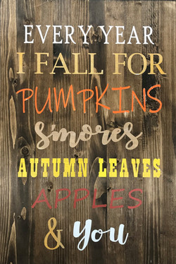 Every Year I Fall