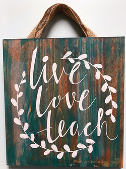 live, love, teach