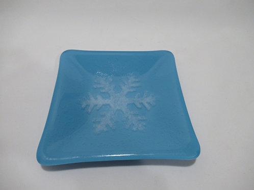 Snowflake plate #6