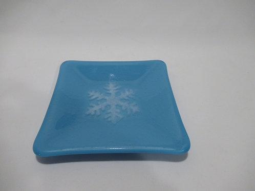 Snowflake plate #7