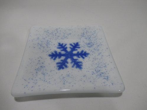 Snowflake plate #12