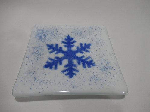 Snowflake plate #13