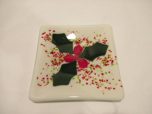Snowflake plate #1