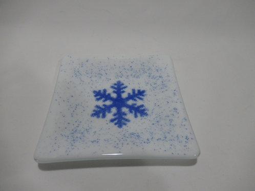 Snowflake plate #10