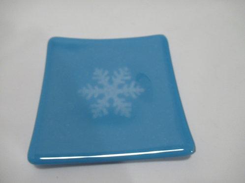 Snowflake plate #3