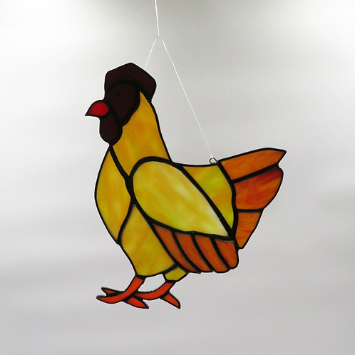 Rooster in Yellow
