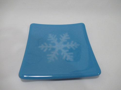 Snowflake plate #4