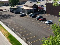 Lansing parking lot
