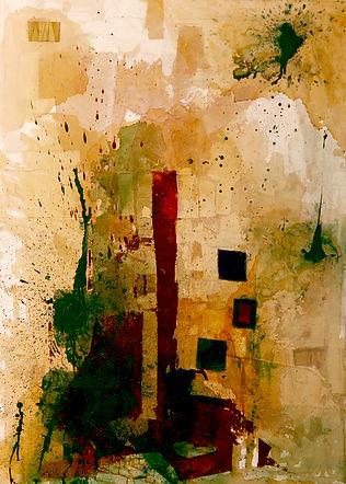 Nausea, 2008 Acrylic on canvas, 140x110 cm