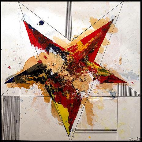 2014 Acrylic on canvas, 150x150 cm