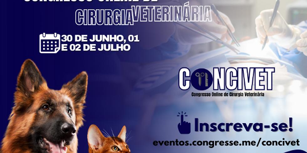 CONCIVET - Congresso Online de Cirurgia Veterinária
