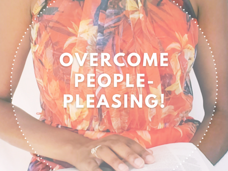 Overcome people-pleasing!