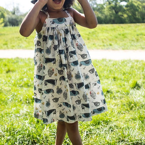 Childrens Strappy Dress