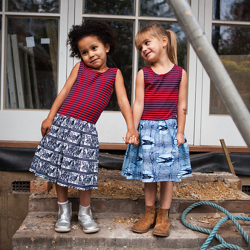 Childrens Jersey Top Dresses