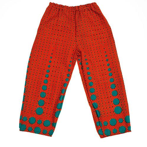 Children's Cuffless Summer Trousers